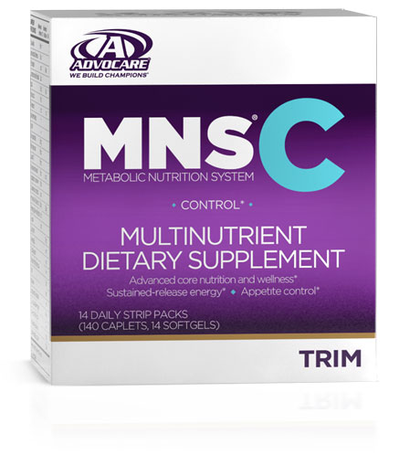 An extra emphasis on appetite management.*††  MNS® C provides a unique support system for anyone who has trouble controlling his or her appetite.* Although reducing caloric intake is a key factor in maintaining weight, it's much easier said than done. MNS® C includes products that can help control appetite, curb cravings and increase energy levels.* This convenient, comprehensive system supports your weight-management goals with its distinct blend of ingredients including core nutrition and energy to help you get the results you are seeking.*