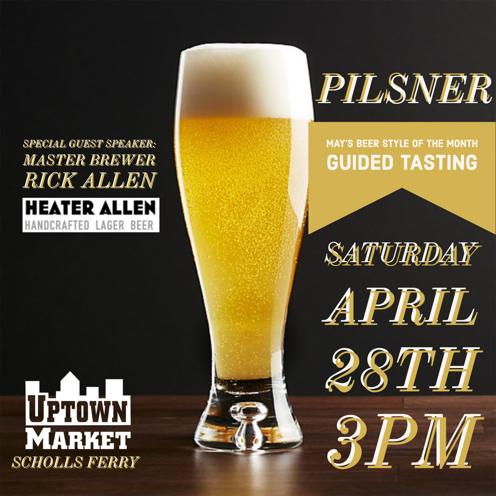 Rick Allen of Heater Allen will be leading us down the path of fine lagers!