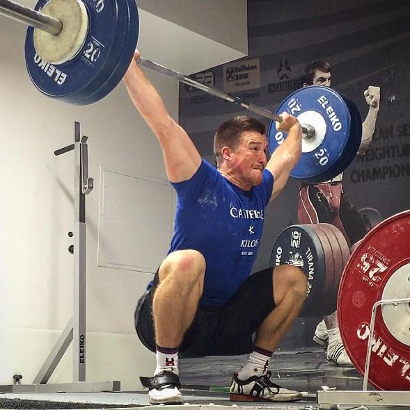 Olympic weightlifting snatch mike dewar j2fit