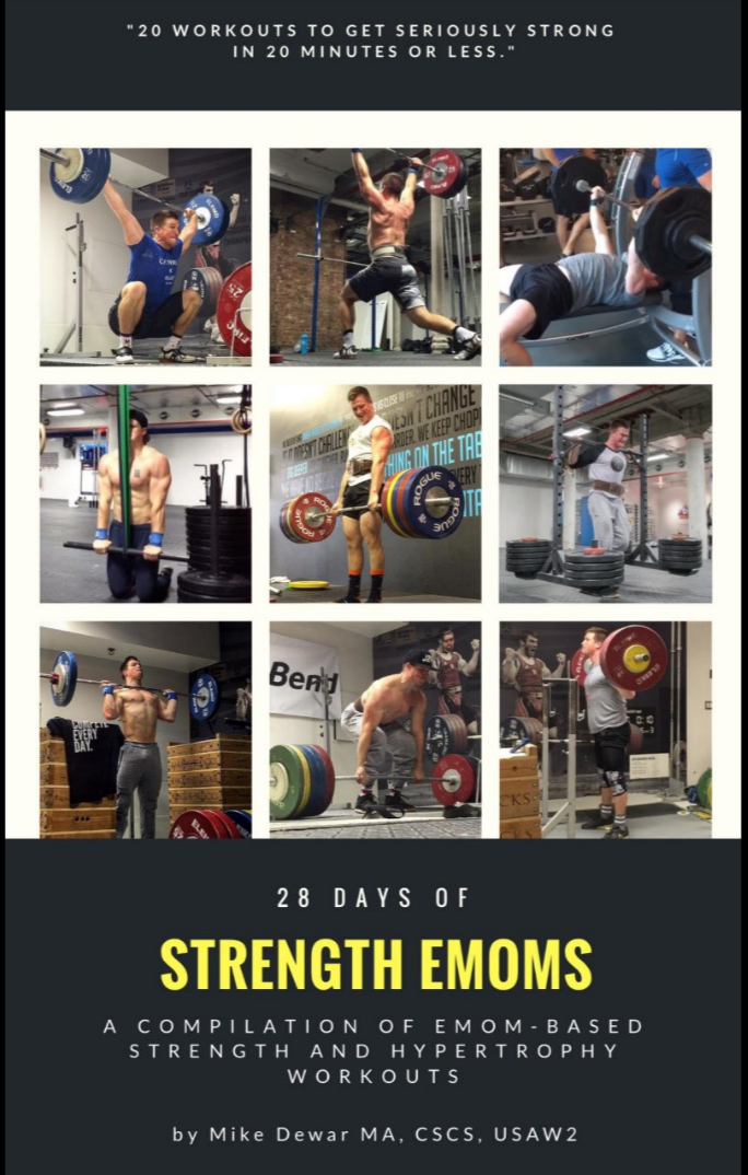 28 Days of Strength EMOMs Workout Program eBook