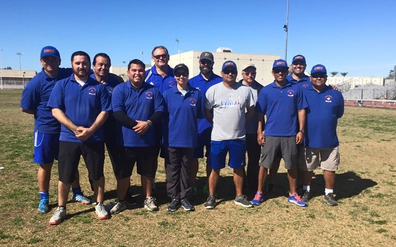 Dynamo El Centro Soccer Club Coaching Staff