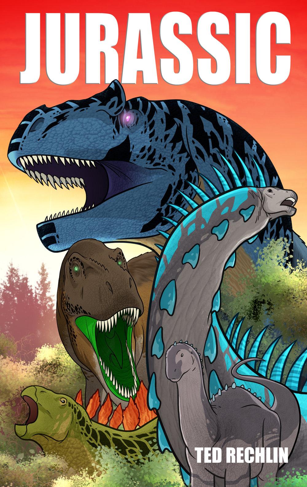 Jurassic_Cover_TedRechlin_RextoothStudios