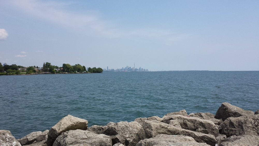 Toronto viewed across the lake