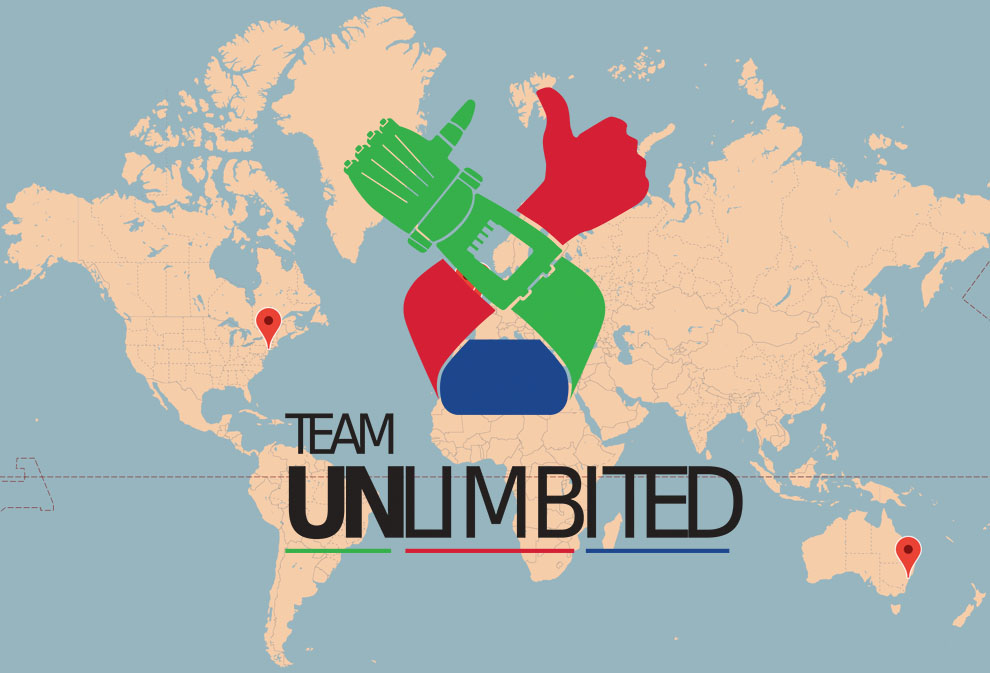 Help us build a world map team unlimbited we want to create a world map to record all the unlimbited arms made by us and by others around the world gumiabroncs Choice Image