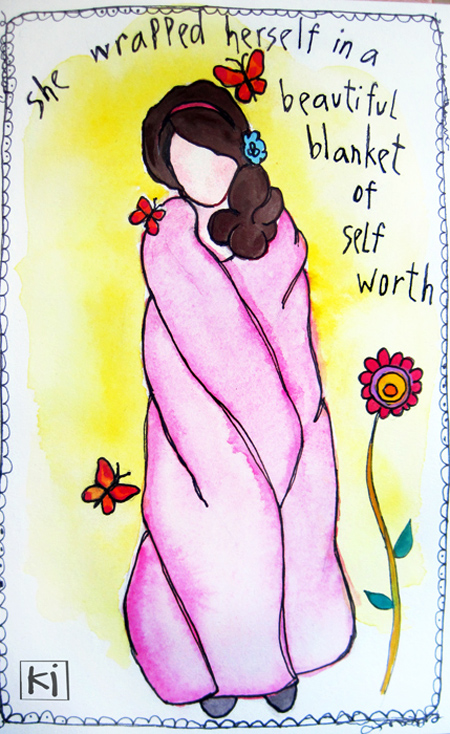 A Blanket of Self Worth