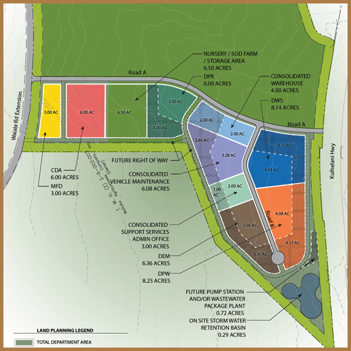 County of Maui - Proposed Baseyard + Regional Park