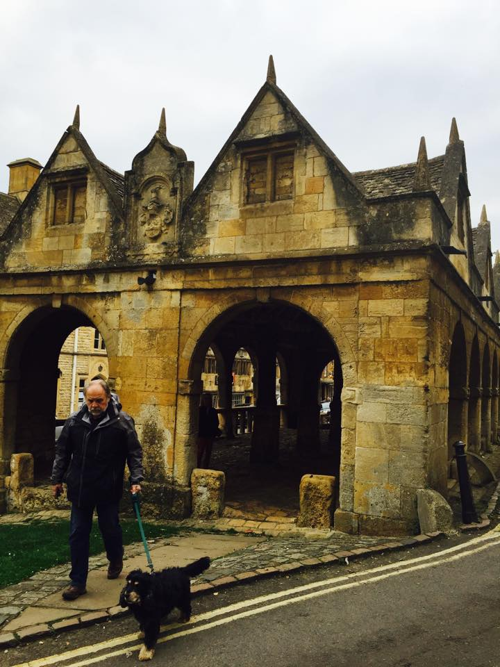 The remaining structure of the old Chipping Campden Market