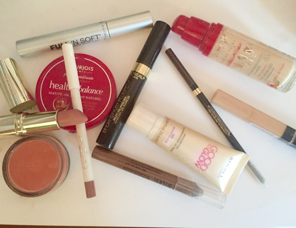 minimal makeup products