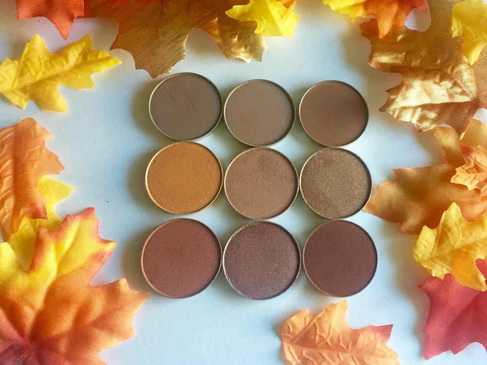 Makeup Geek Fall 2016 Signature Eyeshadow Bundle