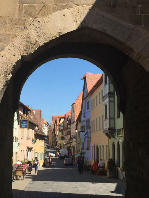 Rothenberg through the gate