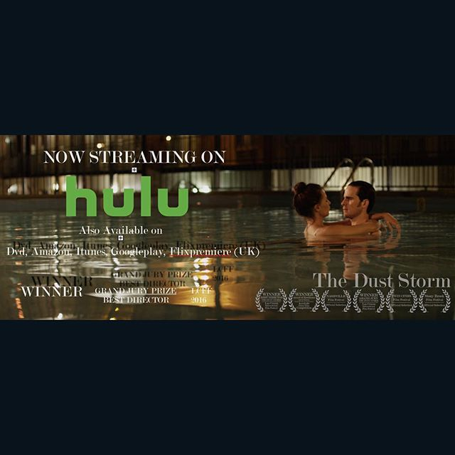 The Dust Storm has been picked up by HULU and is now streaming! #hulu #theduststormfilm #colinodonoghue #kristengutoskie #jimoheir #chriscarmack