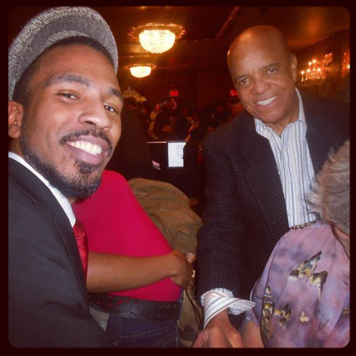 Brandon Bain and Motown Founder Berry Gordy