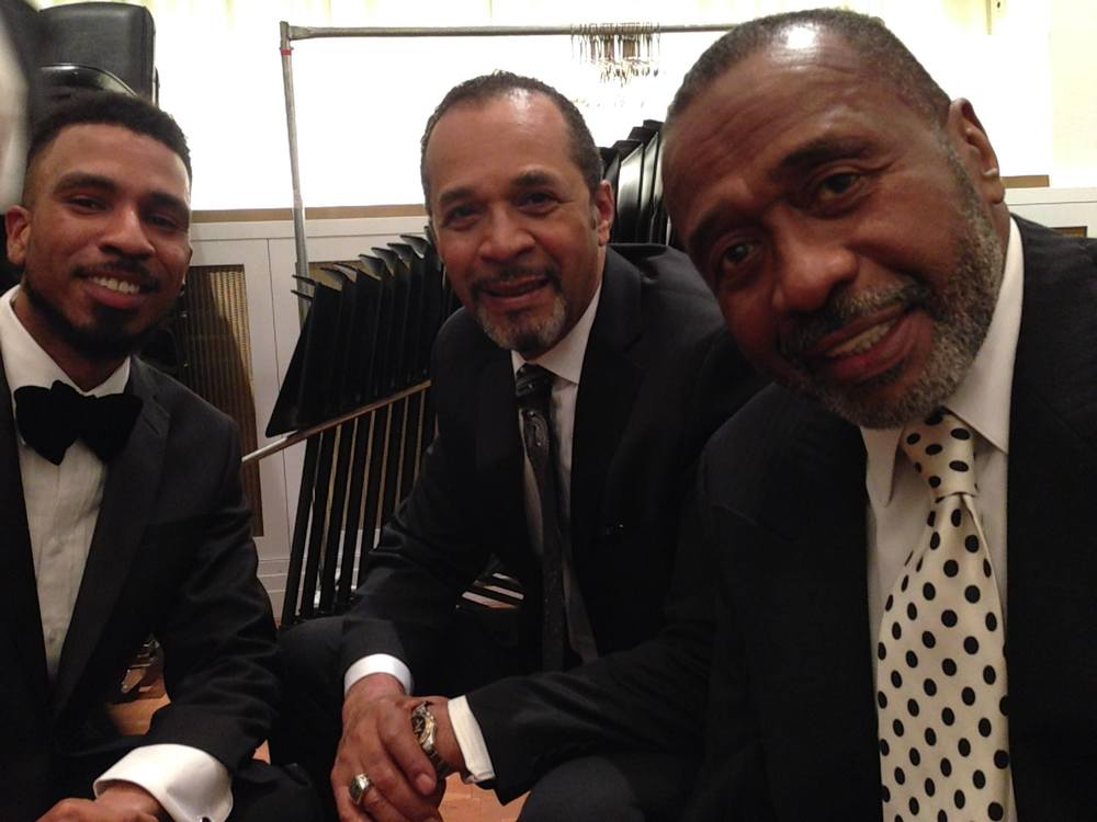 Brandon Bain and Actors/Singers Clifton Davis and Ben Vereen