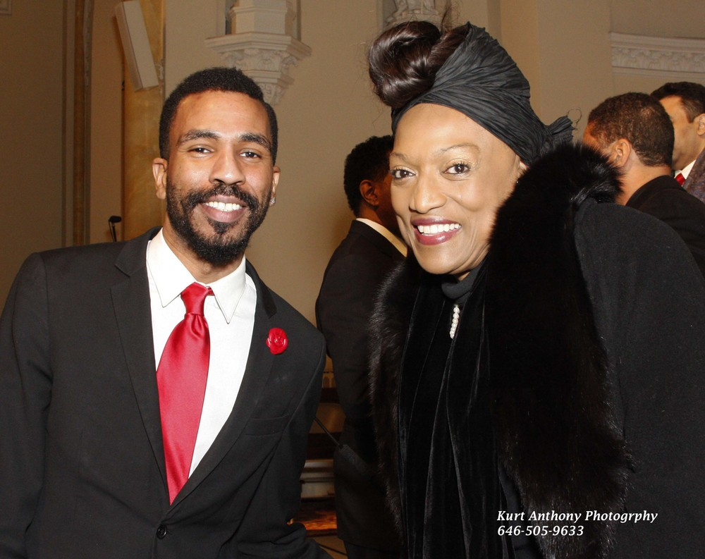 Brandon Bain and Soprano Jessye Norman