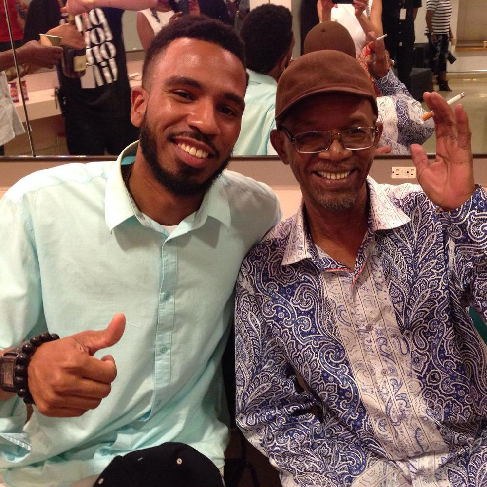 Brandon Bain and Reggae Superstar Beres Hammond