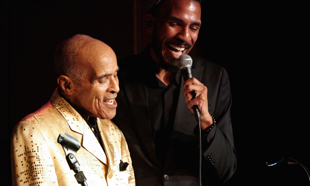 "Jon Hendricks and Brandon Bain sing ""Ask Me Now"" at Minton's"
