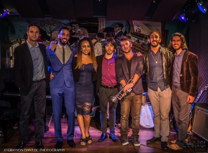 Brandon Bain and band at Minton's Harlem