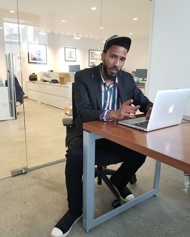 Making the city my office. #BrandonBain #NYC #Projects #Meetings #Artist #Storyteller #Brooklyn #NYC #Crooner #Culture