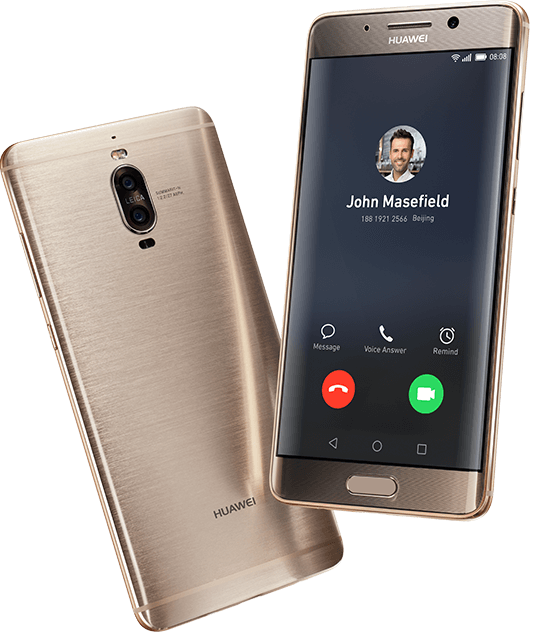 Huawei Mate 9 Pro Front and Back
