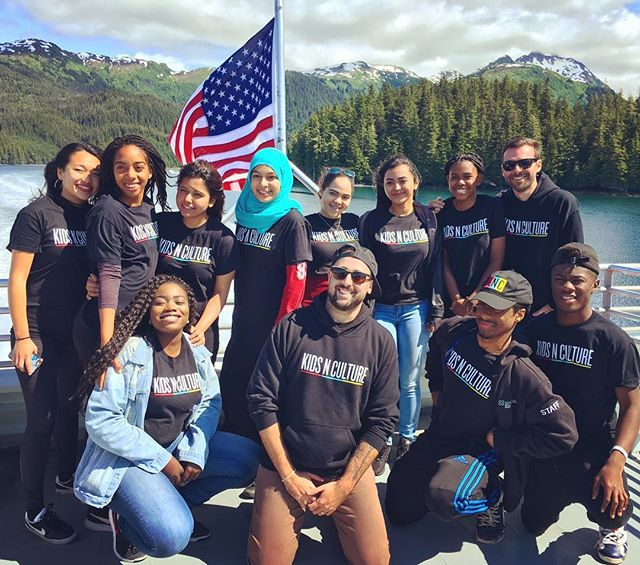 Happy 4th of July from the whole crew! #alaska #kidsnculture #squad