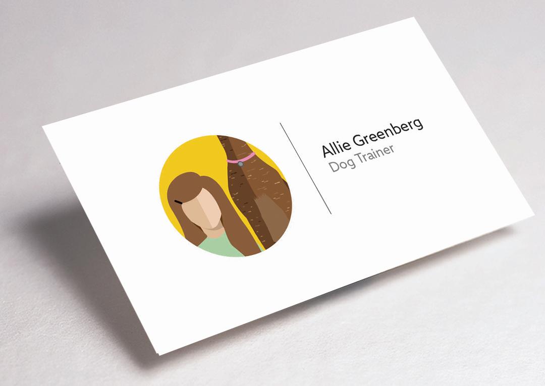 Dog Trainer / Business Card — Hannah Greenberg