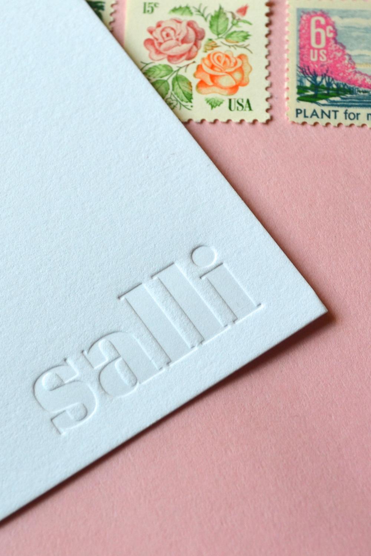 blind impression letterpress cards