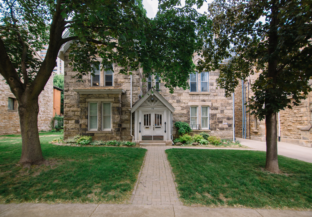 The MacNab Manse where these classes are taking place!