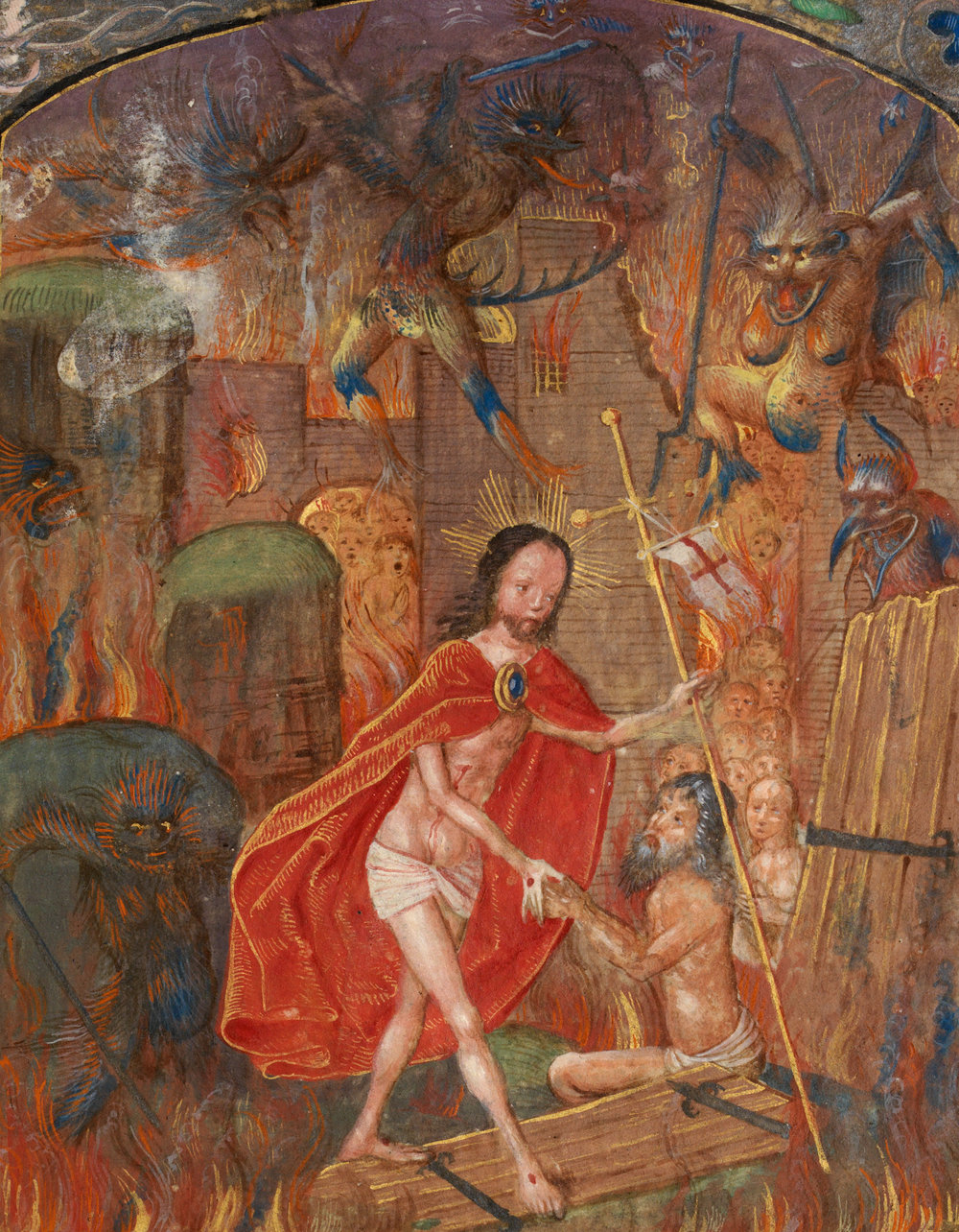 HARROWING OF HELL - Circa 1503-4