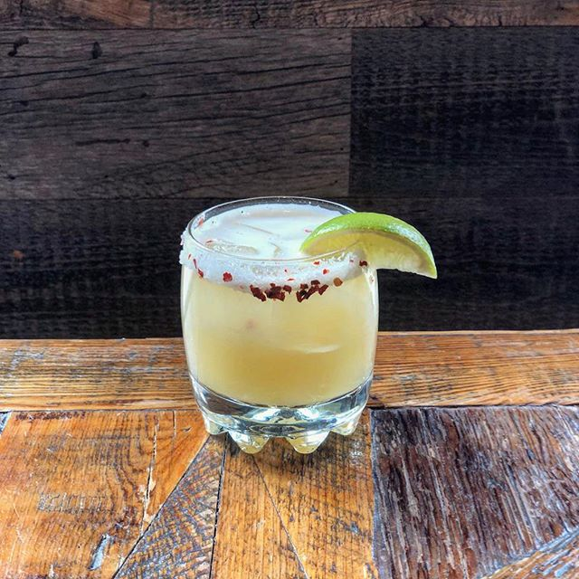 Tonight's feature margarita is Pineapple Chili! Two for one - every Wednesday! #taconight #2for1margs #yyt