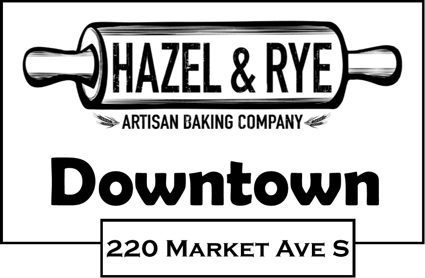 We have a new location opening up effective March 1st in the Huntington Bank building 220 Market Ave S, in downtown Canton, OH.  We are moving into the space formerly used by the Chit Chat Coffee shop and will use that location to expand upon our North Canton Cafe location.  The hours will be from 7 am to 3 pm and we will feature our baked fresh pastries, cookies, muffins and more along with a growing selection of breakfast and lunch foods.  This news is so fresh that a full menu is still in design.  But we wanted you to be the first to know! And did we mention coffee! More details to come and we hope to be a great place in the heart of Canton, Ohio for coffee, great food, and everything else that is Hazel & Rye.