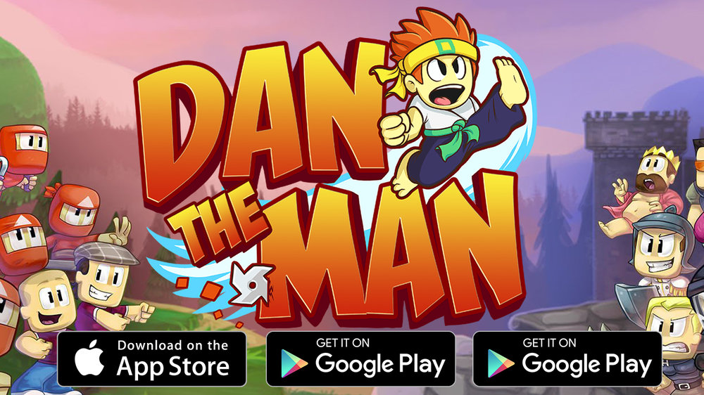 Dan The Man THE GAME