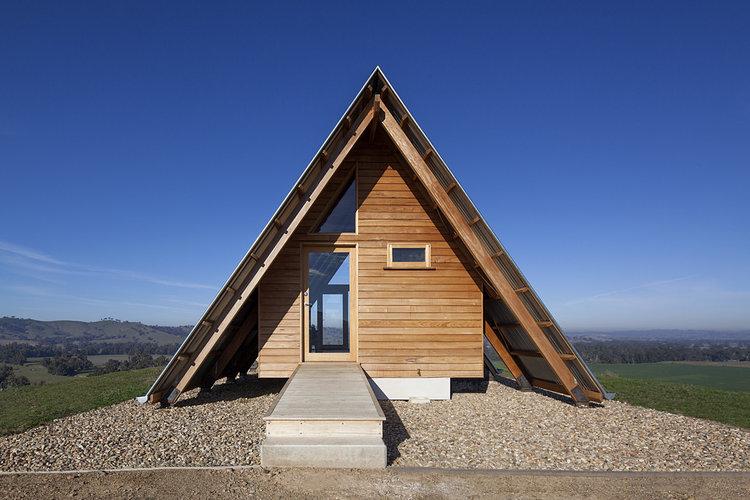 kimo estate huts gundagai anthony hunt design