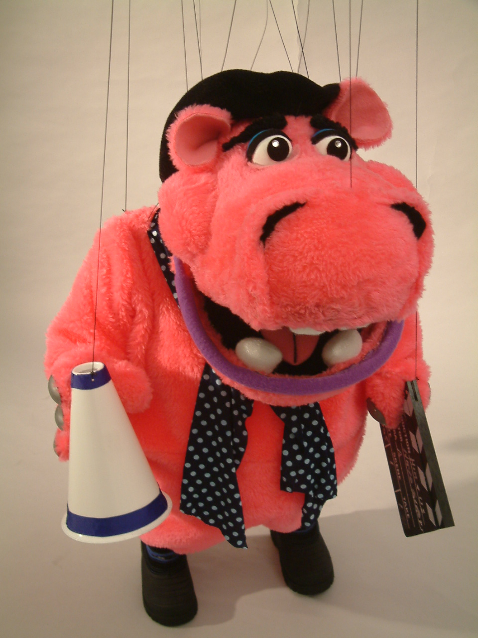 "Wayne Martin Puppets ""Mr. H the Hippo"""