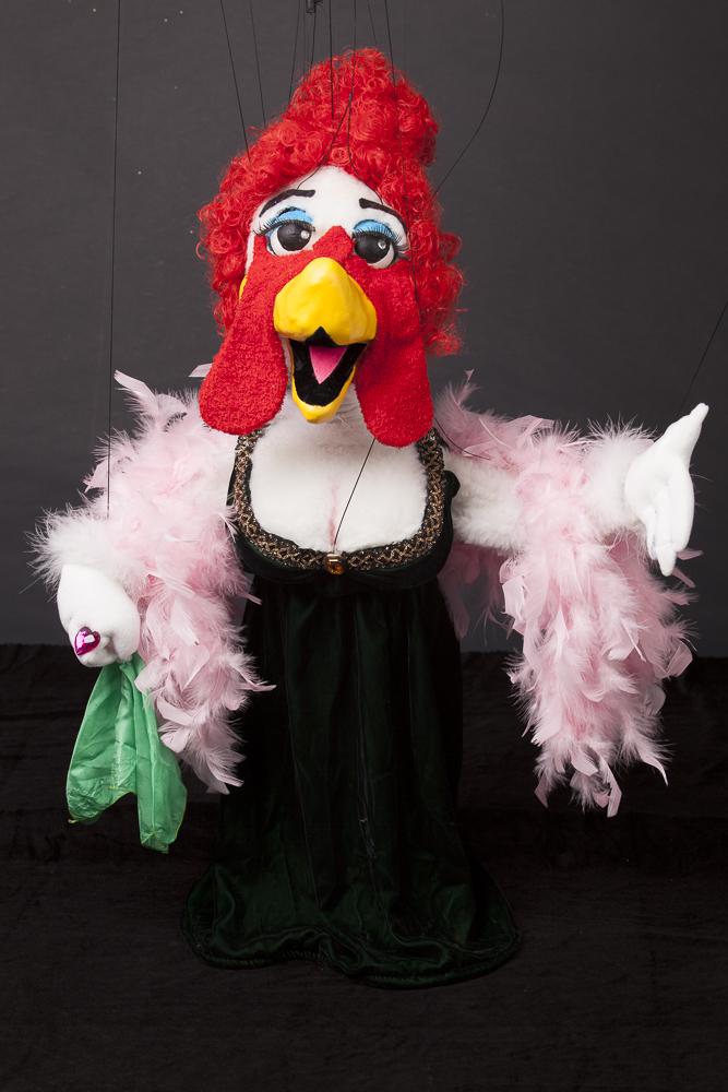 """Wayne Martin Puppets """"Classical Cluck"""" Diva"""