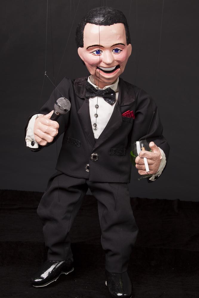 "Wayne Martin Puppets ""Frank Sinatra"""