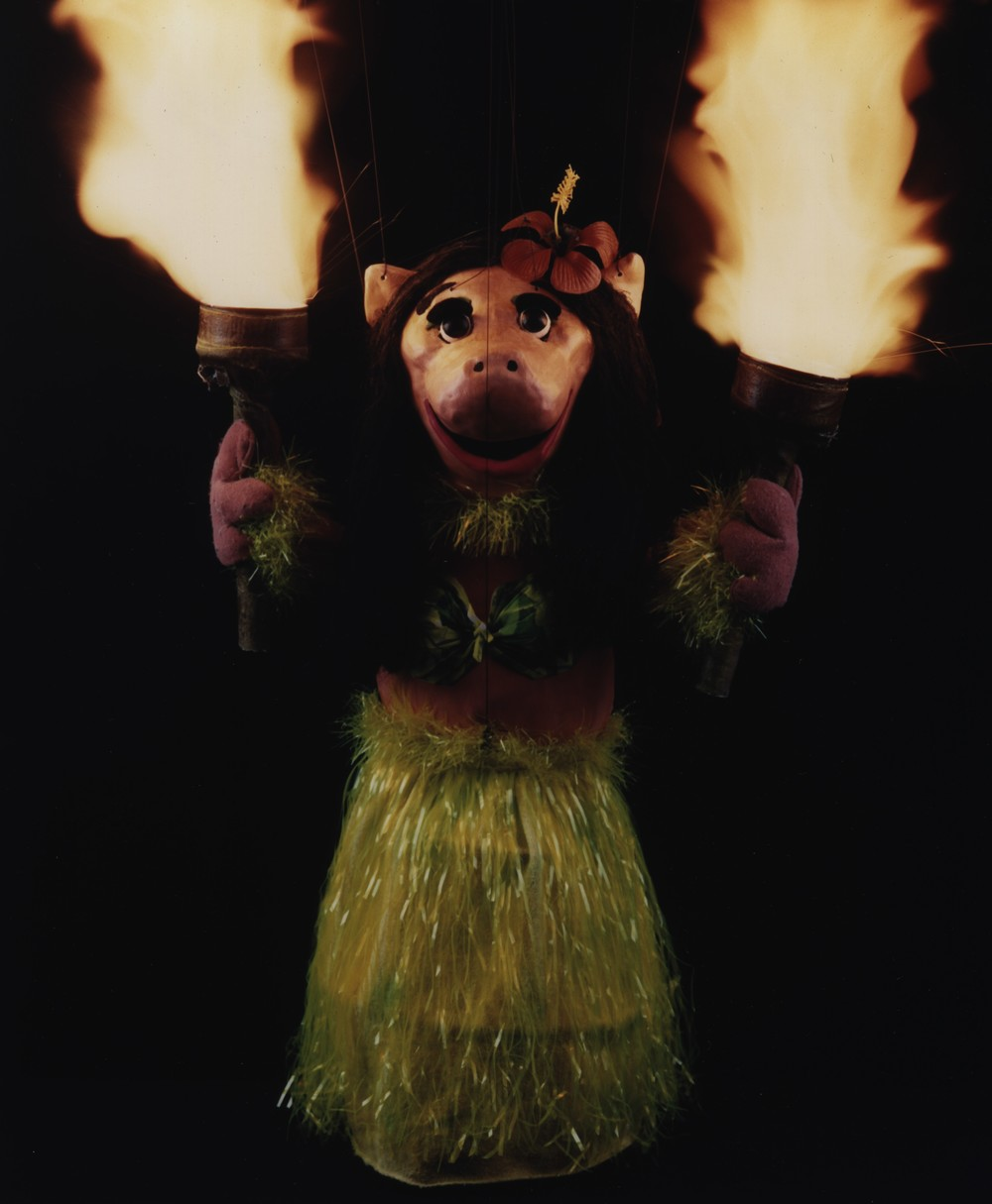 "Wayne Martin Puppets ""Hula Pig"""