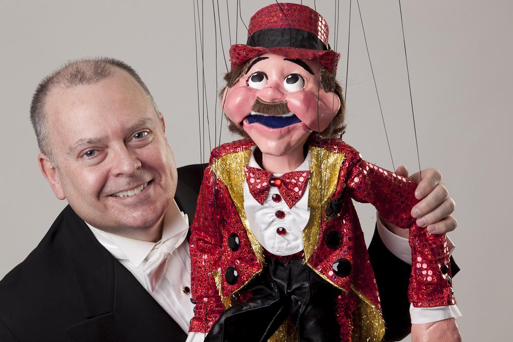 "Wayne Martin Puppets ""Mr. Taps Whipple"" & Wayne"