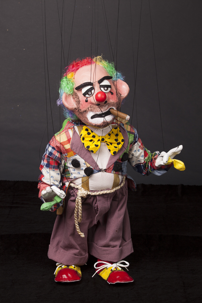 "Wayne Martin Puppets ""Dicky the Clown"""