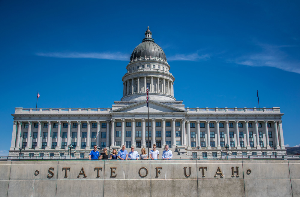 Trolley Tour at Utah State Capitol Building