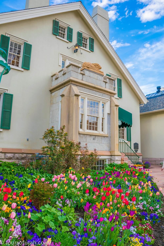 Lion House at Temple Square on Salt Lake City Tours