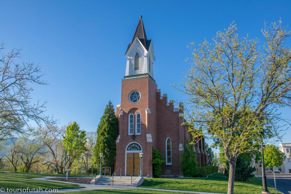 Historic Mormon Chapel on Salt Lake City Tour