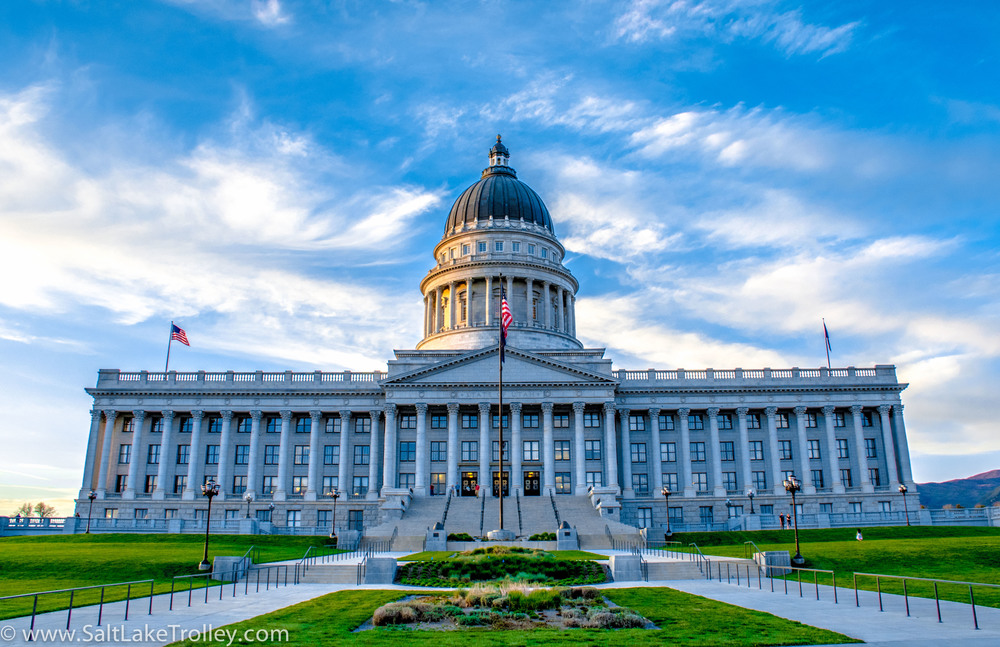 Utah capitol building on Salt Lake Trolley Tours.jpg
