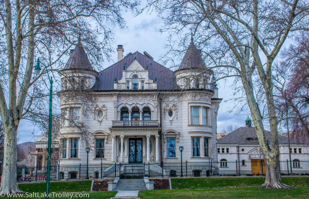 Utah Governors mansion on Salt Lake City Tours