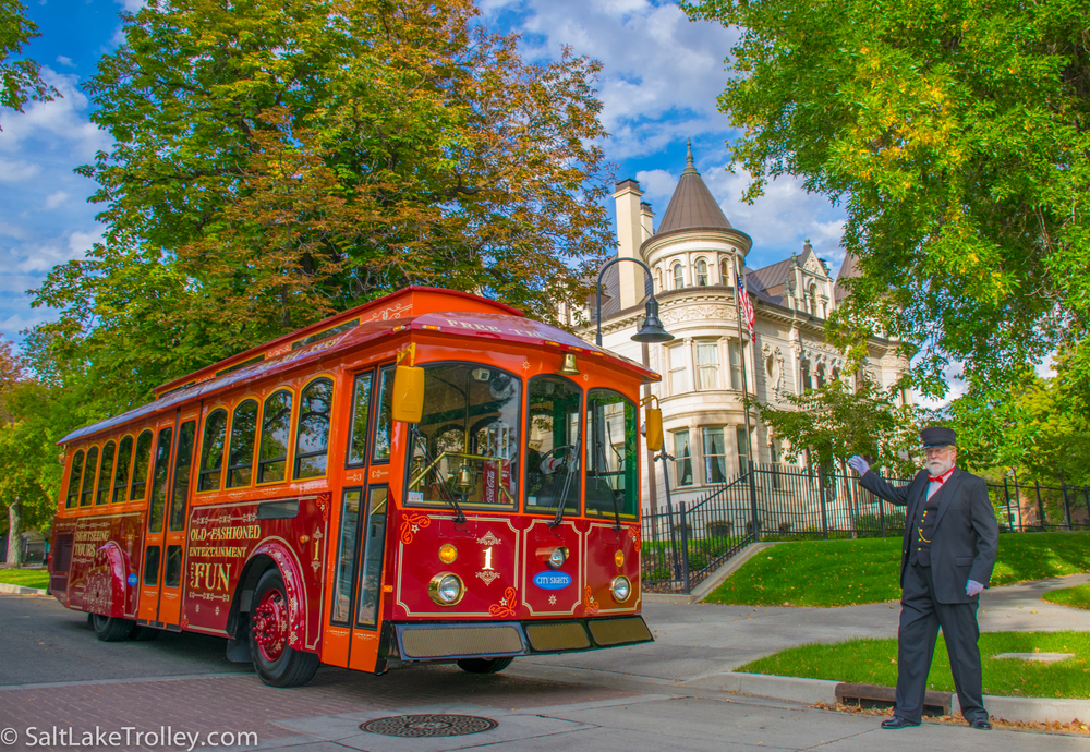 Salt Lake City Sightseeing Trolley