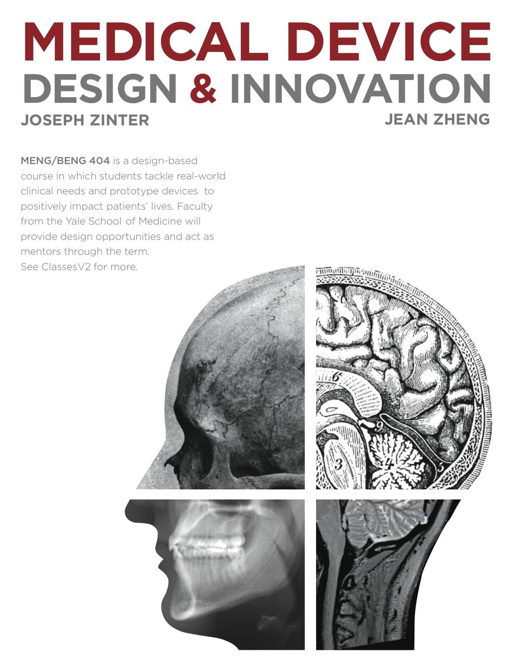 Poster design medical - Poster Design For Course Medical Device Design And Innovation