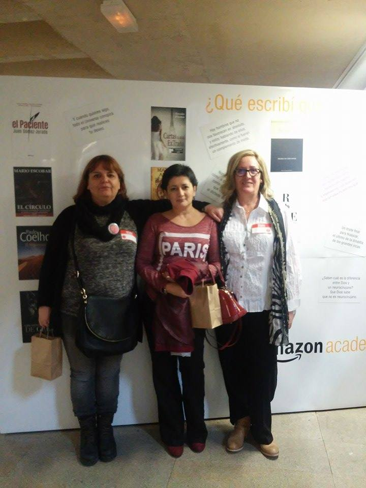 Mercedes Pinto Maldonado I Encuentro Autores Independientes Amazon - 43
