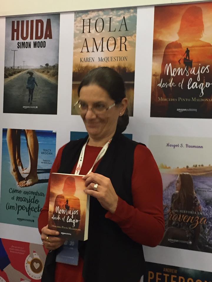 Mercedes Pinto Maldonado Feria Internacional del Libro de Guadalajara 2016 - 2