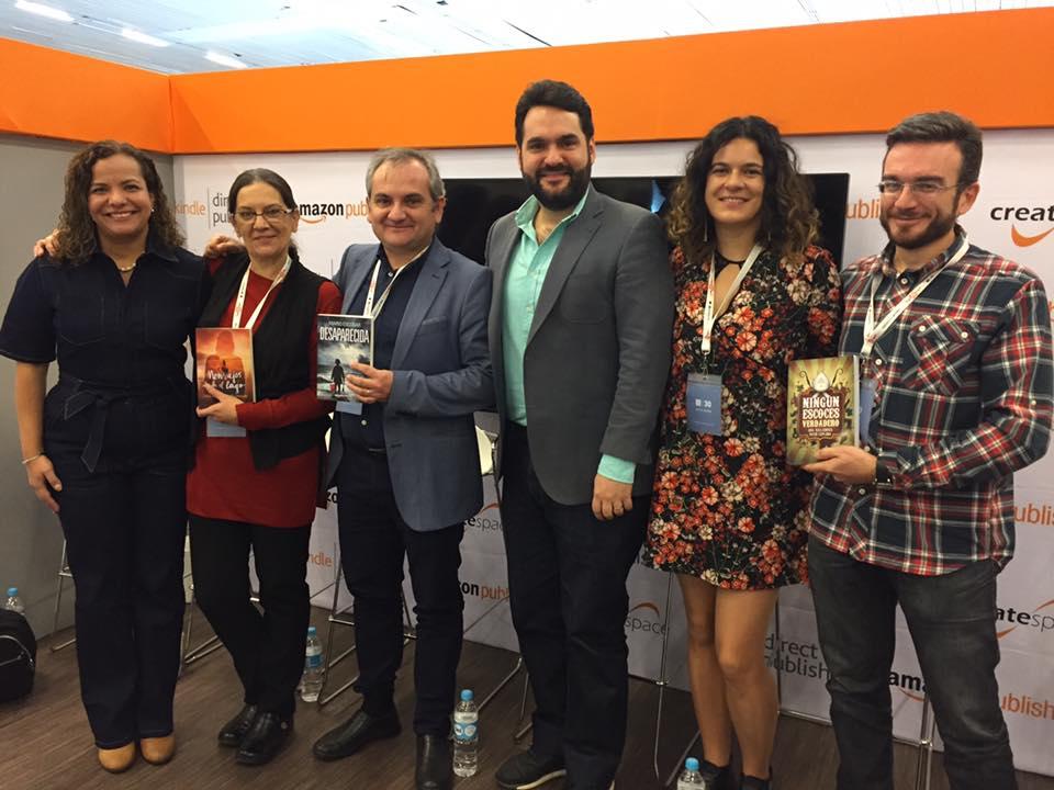 Mercedes Pinto Maldonado Feria Internacional del Libro de Guadalajara 2016 - 17