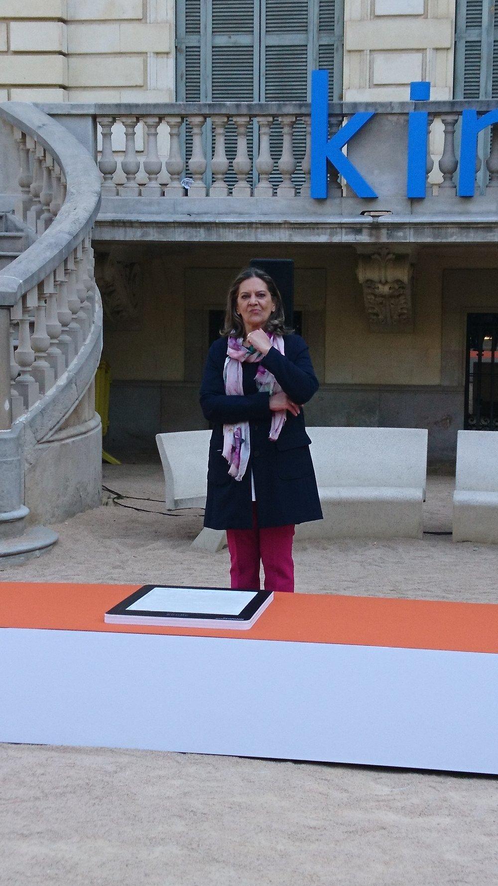 Paseo de la Fama de la literatura Mercedes Pinto Maldonado