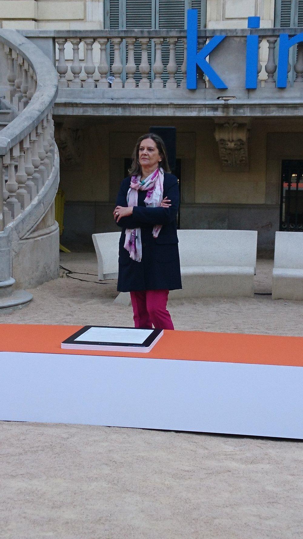 Paseo de la Fama de la literatura Mercedes Pinto Maldonado 3